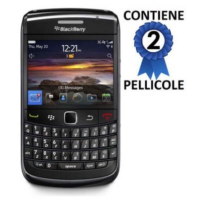 PELLICOLA PROTEGGI DISPLAY BLACKBERRY Bold 9780 CONFEZIONE 2 PEZZI
