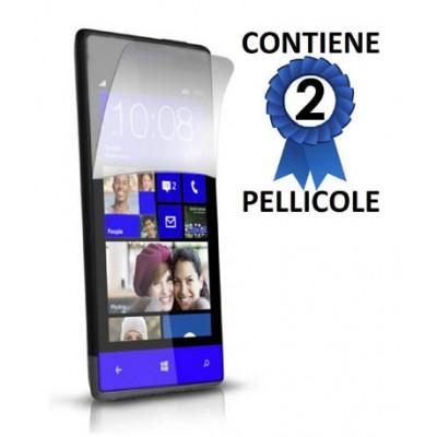 PELLICOLA PROTEGGI DISPLAY HTC 8S CONFEZIONE 2 PEZZI
