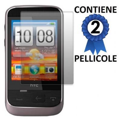 PELLICOLA PROTEGGI DISPLAY HTC SMART CONFEZIONE 2 PEZZI