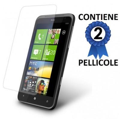 PELLICOLA PROTEGGI DISPLAY HTC TITAN CONFEZIONE 2 PEZZI