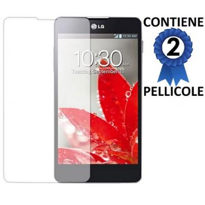 PELLICOLA PROTEGGI DISPLAY LG Optimus G E971, E973, E975, F180 CONFEZIONE 2 PEZZI