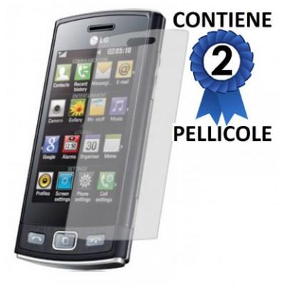 PELLICOLA PROTEGGI DISPLAY LG GM360 Viewty Snap CONFEZIONE 2 PEZZI