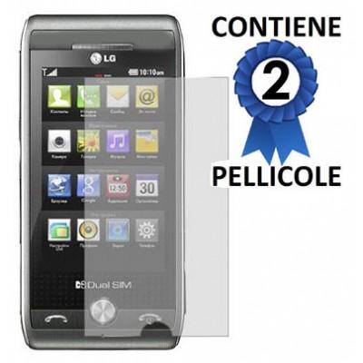 PELLICOLA PROTEGGI DISPLAY LG GX500 CONFEZIONE 2 PEZZI