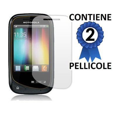 PELLICOLA PROTEGGI DISPLAY MOTOROLA WILDER EX130 CONFEZIONE 2 PEZZI