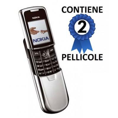 PELLICOLA PROTEGGI DISPLAY NOKIA 8800 CONFEZIONE 2 PEZZI