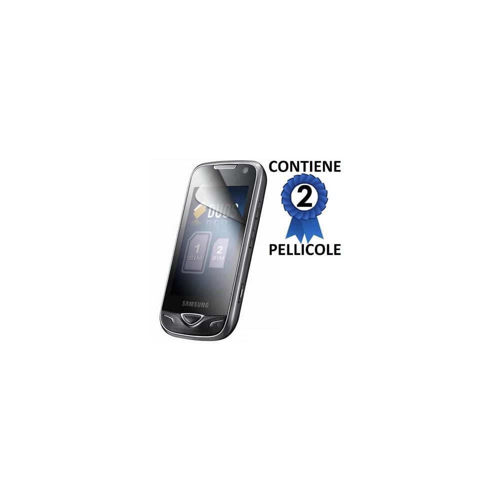 Pellicola Proteggi Display Samsung B7722 Dual Sim Star Duos Sansung Confezione 2 Pezzi