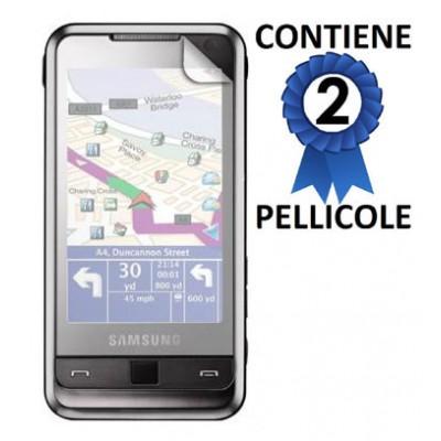 PELLICOLA PROTEGGI DISPLAY SAMSUNG i900 CONFEZIONE 2 PEZZI