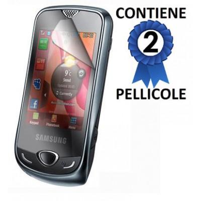 PELLICOLA PROTEGGI DISPLAY SAMSUNG S3370 CONFEZIONE 2 PEZZI