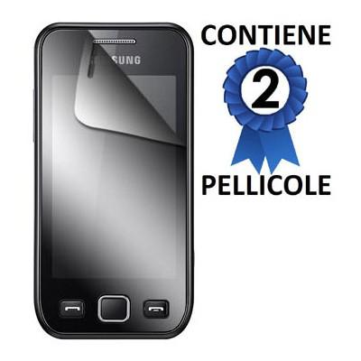 PELLICOLA PROTEGGI DISPLAY SAMSUNG S5250 CONFEZIONE 2 PEZZI
