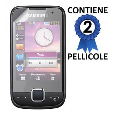 PELLICOLA PROTEGGI DISPLAY SAMSUNG S5600 CONFEZIONE 2 PEZZI