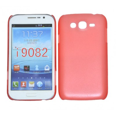 CUSTODIA BACK RIGIDA SLIM DA 0,35mm per SAMSUNG I9080 GALAXY GRAND, I9060 GALAXY GRAND NEO COLORE ROSSO