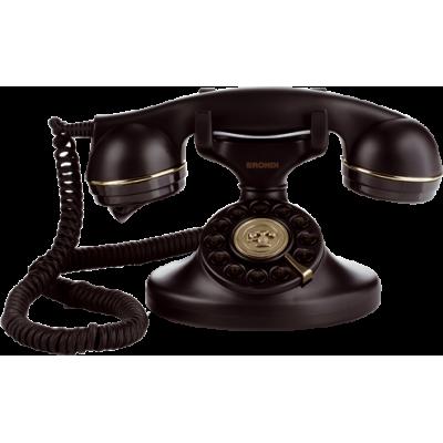 TELEFONO FISSO BRONDI VINTAGE 10 COLORE NERO