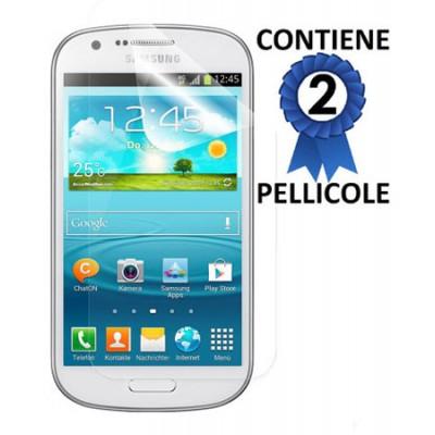 PELLICOLA PROTEGGI DISPLAY SAMSUNG I8730 GALAXY EXPRESS CONFEZIONE 2 PEZZI