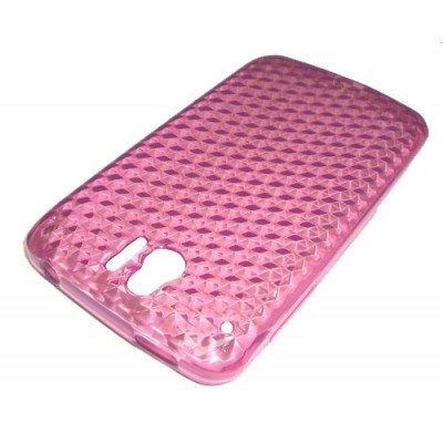 CUSTODIA GEL TPU SILICONE per ALCATEL ONE TOUCH 991, OT-991 COLORE ROSA