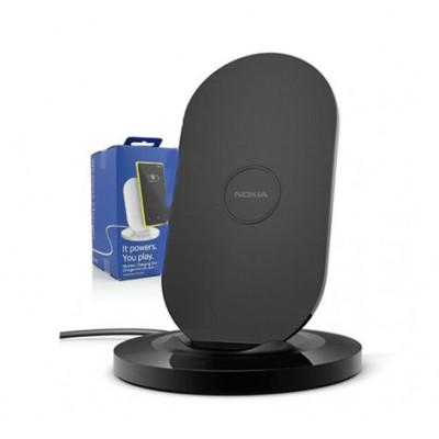 TRAVEL CASA WIRELESS CON STAND ORIGINALE NOKIA DT-910 per LUMIA 920 E TUTTI TELEFONI DOTATI DI TECNOLOGIA QI NERO BLISTER
