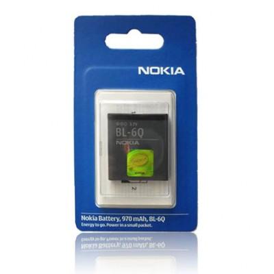 BATTERIA ORIGINALE NOKIA BL-6Q per 6700c, 6700c ILLUVIAL 970mAh LI-ION BLISTER