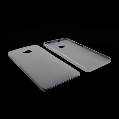 CUSTODIA BACK RIGIDA SLIM DA 0,35mm per HTC ONE, M7 COLORE BIANCO