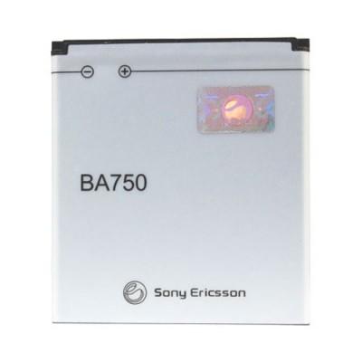 BATTERIA ORIGINALE SONY-ERICSSON BA750 per XPERIA ARC X12, XPERIA ARC S 1500mAh LI-ION BULK
