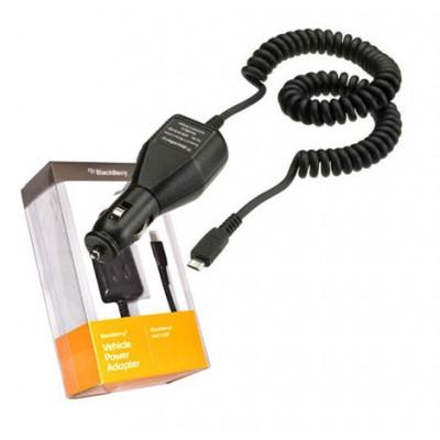 CAVO AUTO ORIGINALE BLACKBERRY per Z10, CURVE 9320, TORCH 9850 ATTACCO MICRO USB ACC-04195-302 BLISTER SEGUE COMPATIBILITA'..