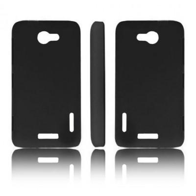 CUSTODIA BACK RIGIDA per HTC ONE X, ONE XL, ONE X+ COLORE NERO
