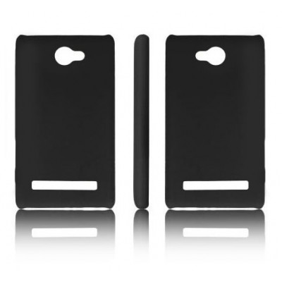 CUSTODIA BACK RIGIDA per HTC 8S WINDOWS PHONE, A620E COLORE NERO