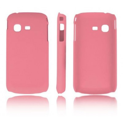 CUSTODIA BACK RIGIDA per SAMSUNG B5330 GALAXY CHAT COLORE ROSA