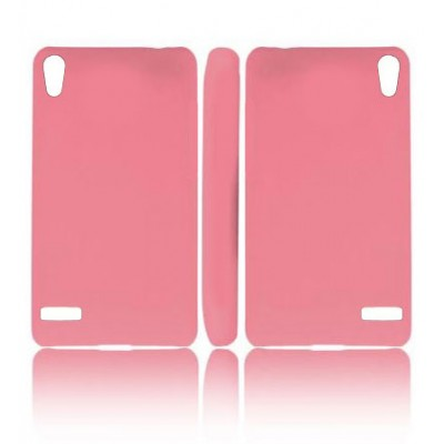 CUSTODIA BACK RIGIDA per HUAWEI ASCEND P6 COLORE ROSA