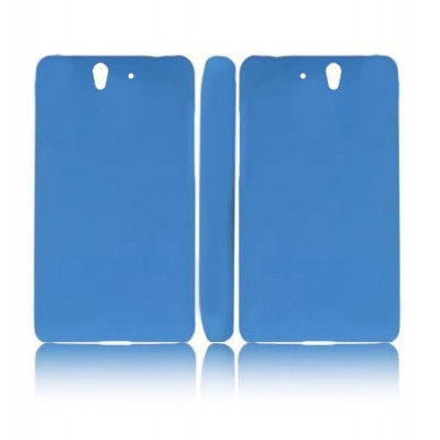 CUSTODIA BACK RIGIDA per SONY XPERIA Z, LT36I, L36H, C6603 COLORE BLU