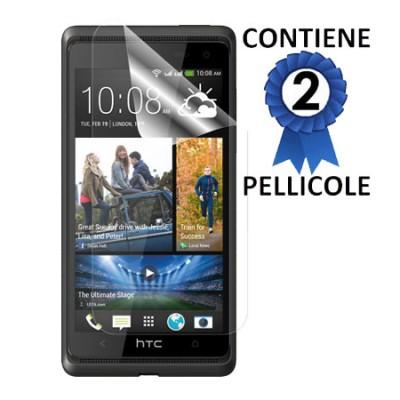 PELLICOLA PROTEGGI DISPLAY HTC DESIRE 600 CONFEZIONE 2 PEZZI