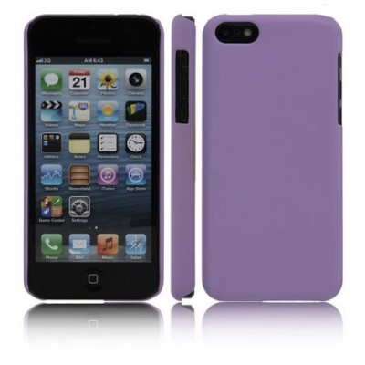CUSTODIA BACK RIGIDA per APPLE IPHONE 5c COLORE VIOLA