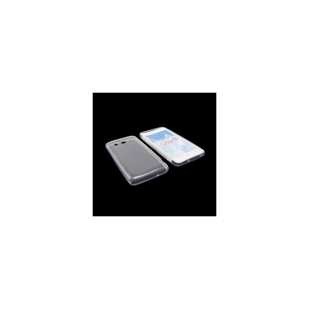 CUSTODIA GEL TPU SILICONE per HUAWEI ASCEND G525 COLORE BIANCO
