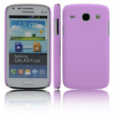 CUSTODIA BACK RIGIDA per SAMSUNG I8260 GALAXY CORE, I8262 COLORE VIOLA