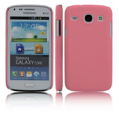CUSTODIA BACK RIGIDA per SAMSUNG I8260 GALAXY CORE, I8262 COLORE ROSA