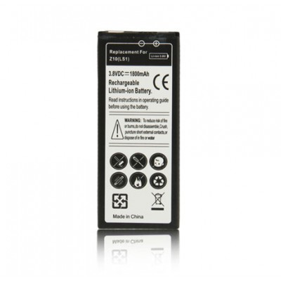 BATTERIA BLACKBERRY Z10 1800  mAh LI-ION