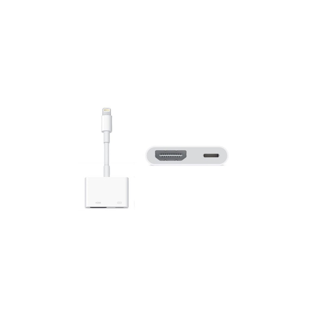 CAVO ADATTATORE HDMI ORIGINALE APPLE MD826ZM/A per APPLE IPHONE 6S, IPHONE 6S PLUS, IPAD AIR COLORE BIANCO BLISTER