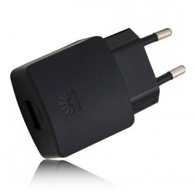 TRAVEL CASA ORIGINALE HUAWEI CON USB POTENZA 1000 mAh COLORE NERO HW-050100E2B BULK