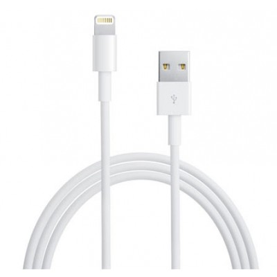 CAVO USB ORIGINALE APPLE MD818ZM LIGHTNING per IPHONE 6S, IPHONE 6S PLUS, IPAD PRO COLORE BIANCO BULK SEGUE COMPATIBILITA'..