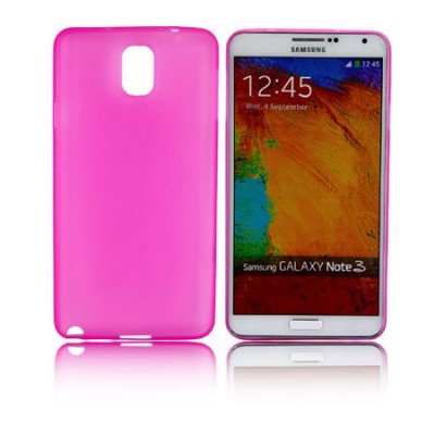CUSTODIA BACK RIGIDA SLIM DA 0,35mm per SAMSUNG GALAXY NOTE 3, N9000, N9002, N9005 COLORE ROSA