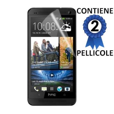 PELLICOLA PROTEGGI DISPLAY HTC ONE MAX CONFEZIONE 2 PEZZI