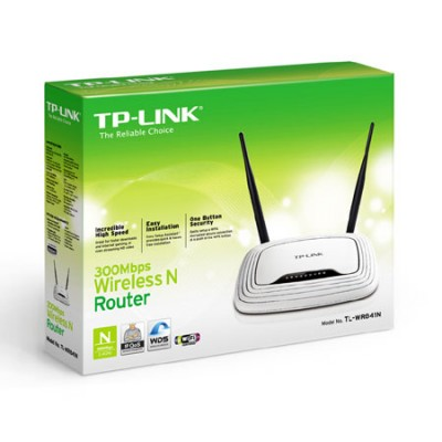 ROUTER WIRELESS N 300Mbps COLORE BIANCO TL-WR841N TP-LINK
