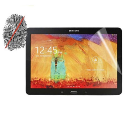 PELLICOLA PROTEGGI DISPLAY ANTI IMPRONTA per SAMSUNG GALAXY NOTE 10.1 (2014 EDITION) SM-P600, GALAXY TAB PRO 10.1 SM-T520
