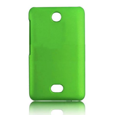 CUSTODIA BACK RIGIDA per NOKIA ASHA 501 COLORE VERDE