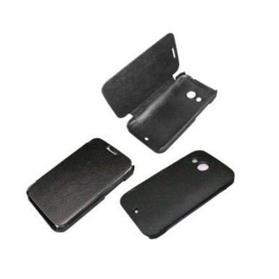 CUSTODIA FLIP ORIZZONTALE per HTC DESIRE 200 COLORE NERO