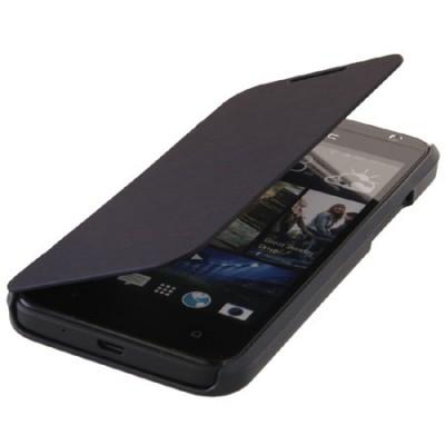 CUSTODIA FLIP ORIZZONTALE per HTC DESIRE 300 COLORE BLU