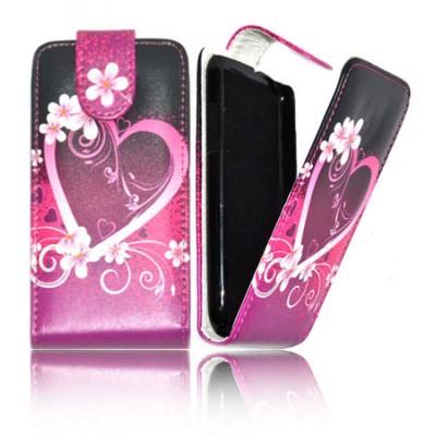 Custodia Flip Verticale Pelle Per Samsung I9100 Galaxy S2 Fantasia