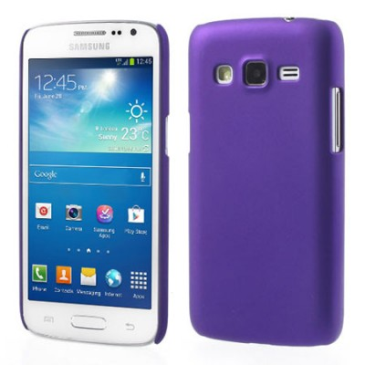 CUSTODIA BACK RIGIDA per SAMSUNG G3815 GALAXY EXPRESS 2 COLORE VIOLA