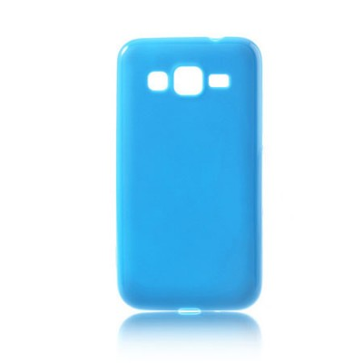 CUSTODIA GEL TPU SILICONE per SAMSUNG I8580 GALAXY CORE ADVANCE COLORE BLU
