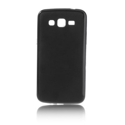CUSTODIA GEL TPU SILICONE per SAMSUNG G7106 GALAXY GRAND 2, G7100, G7102, G7105 COLORE NERO