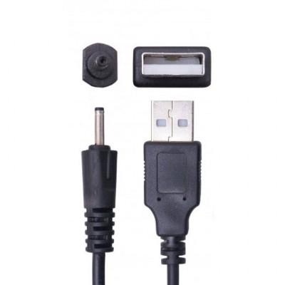 CAVO USB per NOKIA 6101, 6110 NAVIGATOR, 5800 XPRESS MUSIC CONNETTORE 2mm CA-100 COLORE NERO SEGUE COMPATIBILITA'..