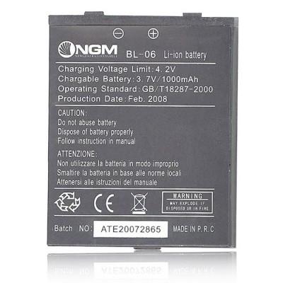 BATTERIA ORIGINALE NGM BL-06 per DG689 1000 mAh LI-ION BULK